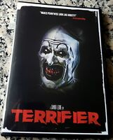 TERRIFIER UNRATED DVD Art The Clown Damien Leone Jenna Kanell All Hallow's Eve