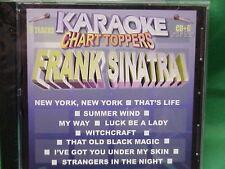 Frank Sinatra ~ Karaoke Chart Toppers ~ 01 ~ Chart Toppers Karaoke ~ Cd+G ~ New