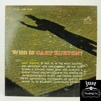 Gary Burton – Who Is Gary Burton? 1963 lp LSP-2665 - Jazz - EX