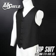 AA Shield Bullet Proof VIP Suit Vest IIIA 3A M Black