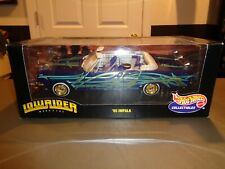 NEW 1:18 Hot Wheels 1965 65 Impala Die Cast 1999 LowRider Magazine Custom Purple