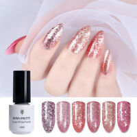 BORN PRETTY 5ml Rose Gold Glitzer Shiny Soak Off UV Gellack Nagellack Gel Polish