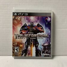 Transformers: Rise of the Dark Spark (Sony Playstation 3, PS3)