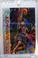 1997 97-98 Z-Force Total Impact Scottie Pippen #10, Insert Refractor Like, Bulls