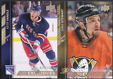 15-16 Upper Deck Keith Yandle 17/100 UD Exclusives NY Rangers 2015