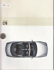 Volvo  C 70 Cabrio  Prospekt  Brochure  52  Seiten - 2003