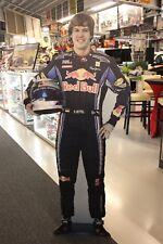 Cardboard Figurine Sebastian Vettel (GER) Red Bull Racing (height 172 cm) (AK)