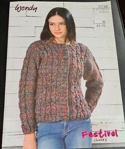 Wendy Knitting Pattern 5736