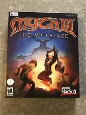 Rare-Brand New Factory Sealed Myth III: The Wolf Age Apple 2002 Mac Video Games
