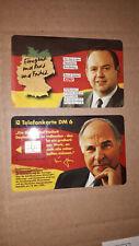 O1995 von 1994 Helmut Kohl mit seltener Rückseite Bernd Siebert  rar! ** mint