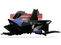 Plastic Body Kit Black Polisport 90765 For 18-19 Suzuki RMZ450 RMZ250