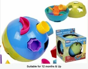Shape Sorter Ball Baby Toddler Activity Toy 12+ months