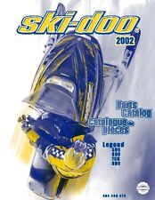 Ski-Doo parts manual catalog book 2002 LEGEND 500