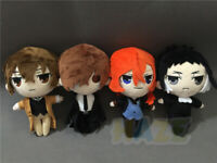 Anime Stray Dogs Osamu Dazai Nakahara Chuuya Plush Doll Soft Stuffed Toys New