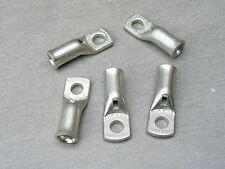 lot de 5 cosse tubulaire 25 mm² trou M6  cuivre etamé