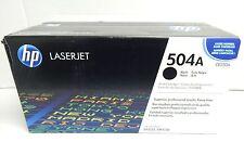 GENUINE HP 504A LASERJET PRINTER CARTRIDGE CE250A - COLOUR BLACK