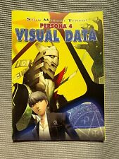 PERSONA 4 VISUAL DATA ART BOOK ONLY * GAME GUIDE * NO GAME *