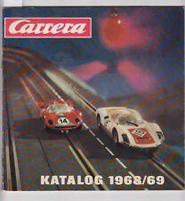 Alter Katalog Carrera Autorennbahn 1968/69 Autos Zubehör Bahnen Preise Fotos