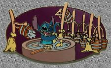 Stitch Bathing & Fantasia Brooms Pin - DISNEY AUCTIONS LE 1000