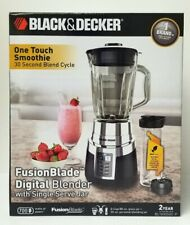 BLACK+DECKER BL1820SG-P Fusion Blade Digital Blender, Black/Silver