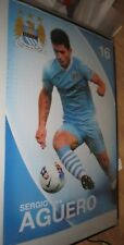 Sergio Agüero - Manchester City - unsigned / unframed poster - official product