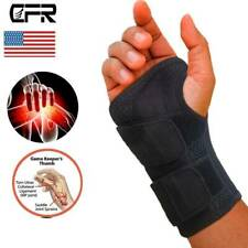 Compresion Wrist Support Hand Brace Carpal Tunnel Sprain Arthritis Gym Sports
