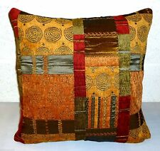 Polyester Patchwork Square Decorative Cushions