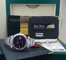 ROLEX Mens 18kt White Gold & Stainless DateJust II Black Roman 116334 SANT BLANC