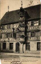 CPA   Turckheim-Hotel des Deux Clefs et Restaurant renommé -Propriétaire(451828)