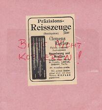 NESSELWANG, Werbung 1914, Clemens Riefler Präzisions-Reisszeuge Fabrik mathem.