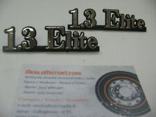 LANCIA Y10 1.3 ELITE scritta modello logo stemma emblema targhetta Y 10 NOS