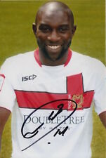 MK DONS HAND SIGNED JABO IBEHRE 6X4 PHOTO 3.