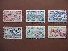 FRANCE neufs  n° 960 à 965  SPORTS 1ère série (1953)