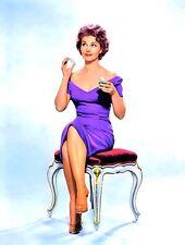 1950-1959 CLAIRE KELLY color portrait photo (Celebrities & Musicians)