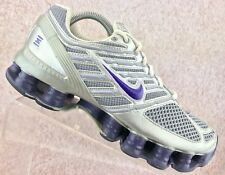 Nike Shox TL4 Purple Gray Athletic Running Shoes Women's Size 9.5