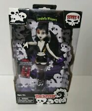"Begoths Lunabella Whispers Bleeding Edge Goth 7"" Doll MIB"