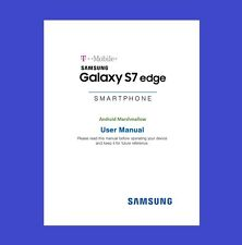 """Samsung Galaxy """"S7 Edge"""" User Manual for T-Mobile (model SM-G935T)"""