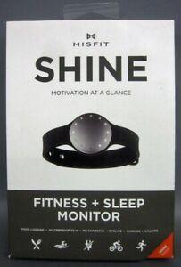 "Misfit SHINE Motivation At A Glance Fitness + Sleep Monitor Bluetooth 4.0 ""GRAY"""