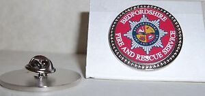 Bedfordshire Fire and Rescue Service Lapel pin badge