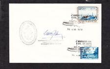 Argentina Antarctica Gen San Martin Base Ink Signature N Bolzon General Mgr Z49