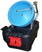 DESERT FOX SPIRAL GOLD PANNING MACHINE VARIABLE SPEED plus 120 Volt Power Supply