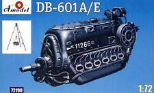 Amodel - DB-601A/E Daimler-Benz + Stand Motor Modell-Bausatz - 1:72 Engine 601 A