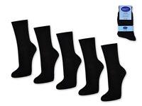 10 Paar Damensocken 100% Baumwolle ohne Naht Business Damen Socken Schwarz Weiß