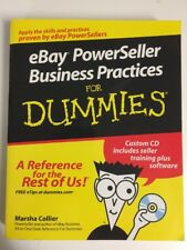 eBay POWERSELLER Business Practices For Dummies CD Included Training & software