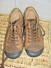 KEEN Briggs 2 Tone Brown Nubuck Comfort Walking Lace Up Oxford Shoes US 6