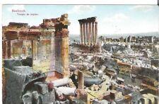 Lebanon Old Postcard Middle East Jupiter Temple, Baalbek