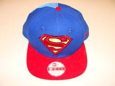New Era Cap Hat Superman Original Snapback 9fifty Adjustable OSFM Quarter Panel
