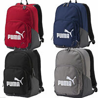 PUMA MENS HALLS BACKPACK WITH ZIP FASTENING AND LONG STRAPS 072810 02/03