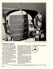 1965 MERCEDES-BENZ 220S ~ CLASSIC ORIGINAL PRINT AD