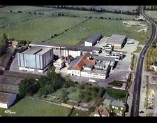 ISIGNY-sur-MER (14) LAITERIE COOPERATIVE & VILLAS en vue aérienne